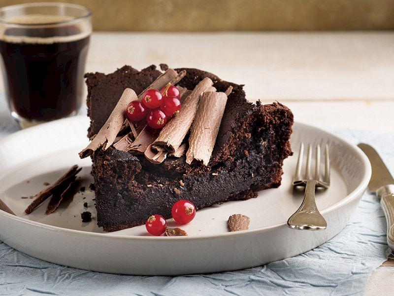 Unsuz Çikolatalı Pasta