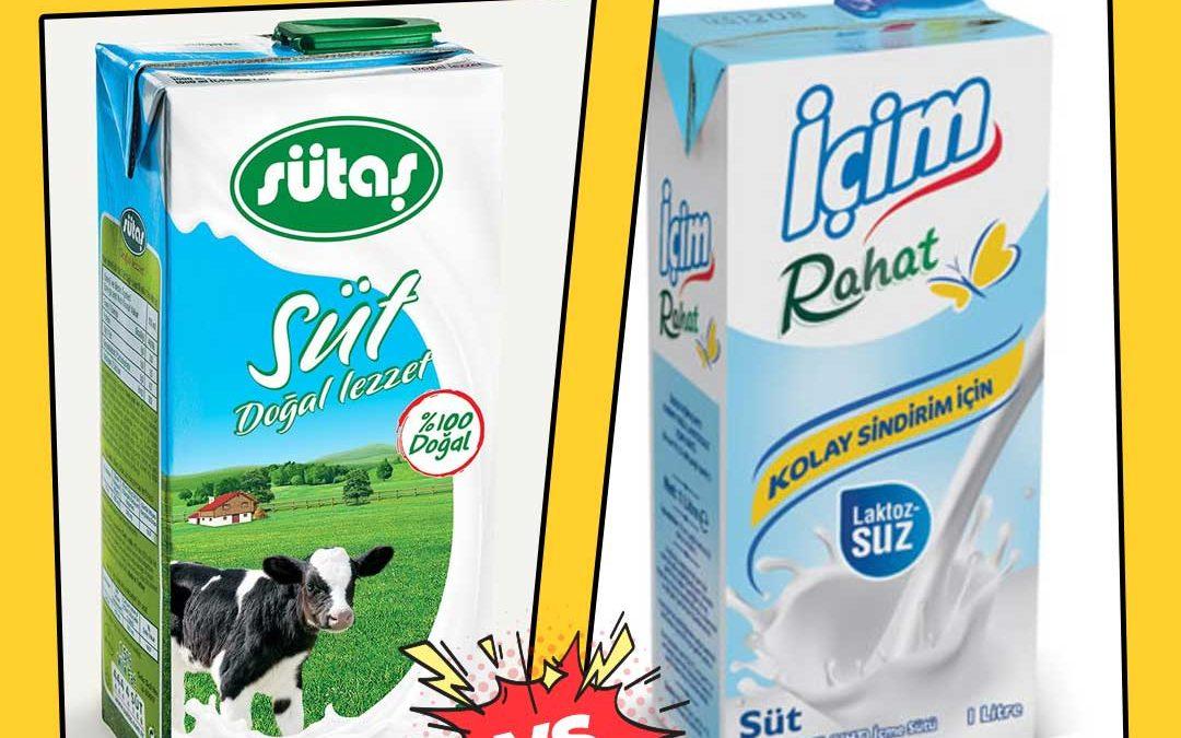 Yarım Yağlı Süt Mü, Laktosuz Süt Mü?