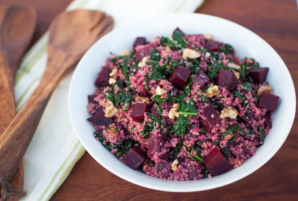 Kinoalı Pancar Salatası
