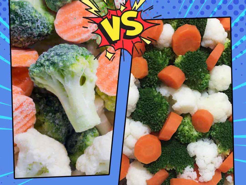 Dondurulmuş Sebze/Meyve Mi? Taze Sebze/Meyve Mi?